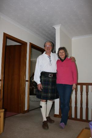 Glen Rowan Guest House: The owners, Allistair and Vanessa