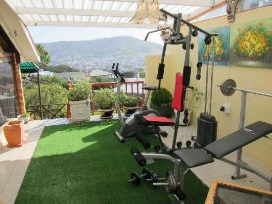 Villa Belladonna B&B: Gym