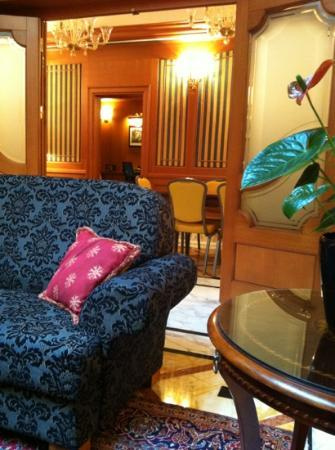 Hotel Manzoni: hall