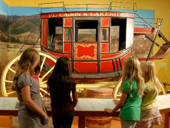 San Diego History Center : View the Stagecoach