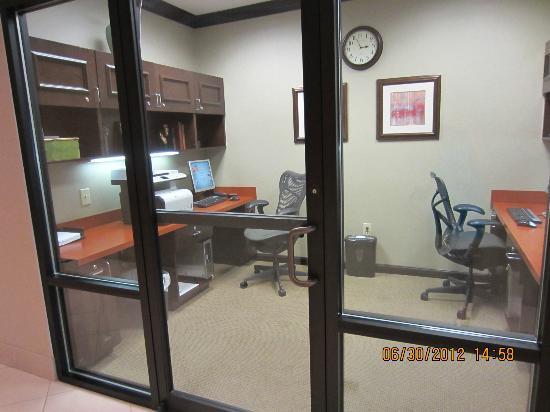 Hilton Garden Inn Cartersville: Internet area