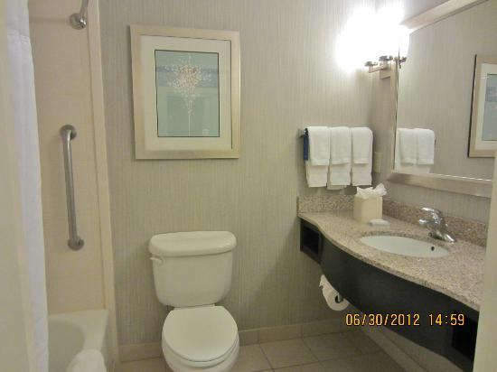 Hilton Garden Inn Cartersville: Bath of rm #109
