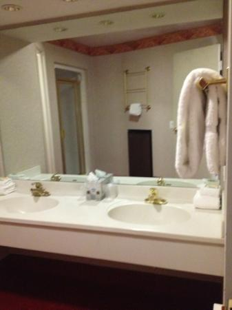 Paradise Stream Resort: double sink vanity