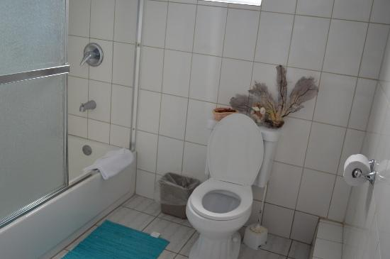 Aupic Paradise: nice clean toilet