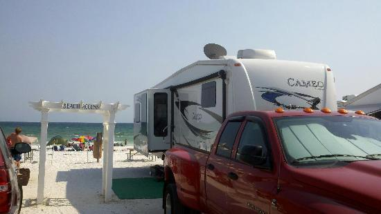 Camp Gulf: Beachfront Spot