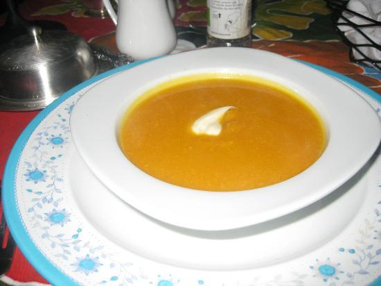 Rio Magnolia Nature Lodge: Squash Soup- delicious!