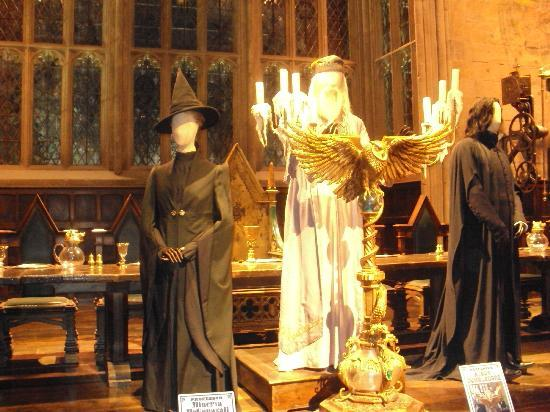 Warner Bros. Studio Tour London - The Making of Harry Potter: Dumbledore, McGonnagol and Snape