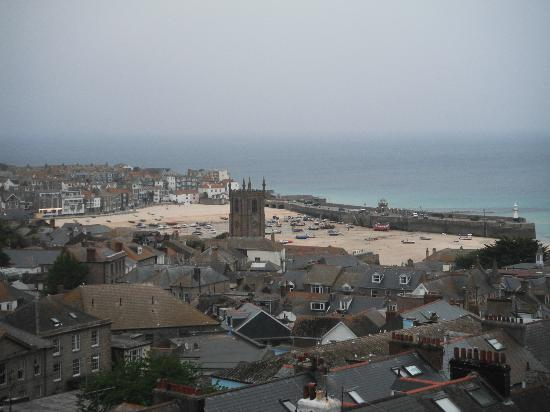 Little Leaf Guest House: St Ives from Room 2