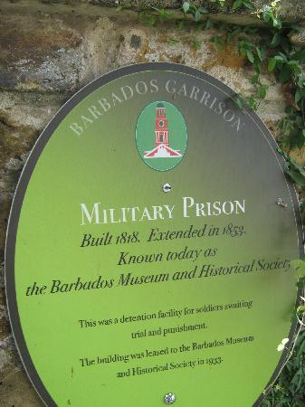 Barbados Museum & Historical Society : Museum