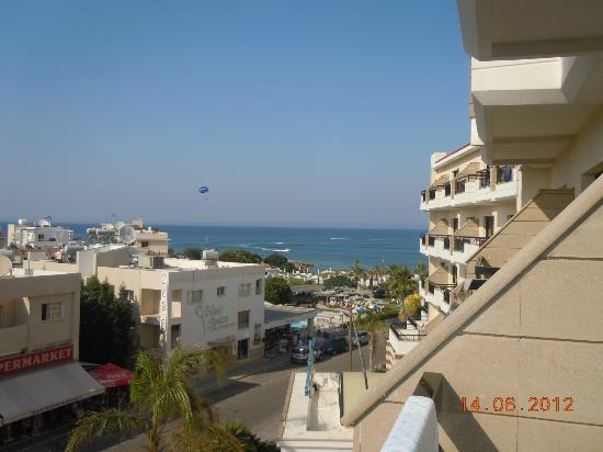 Anastasia Beach Hotel: view from our hotel room 324