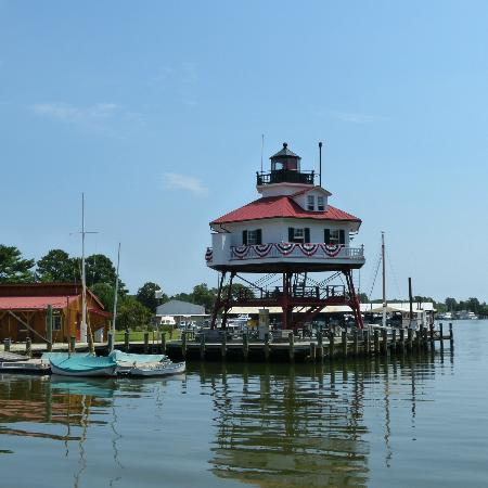 Calvert Marine Museum and Drum Point Lighthouse: drum point