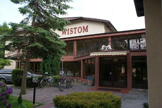 Sanatorium Wistom: Main entrance