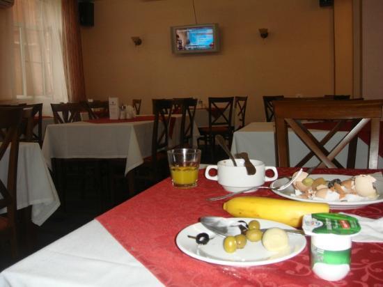 Maxima Zarya Hotel: breakfast