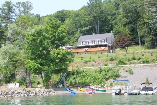Cobblescote on the Lake: Cobblescote from the Lake