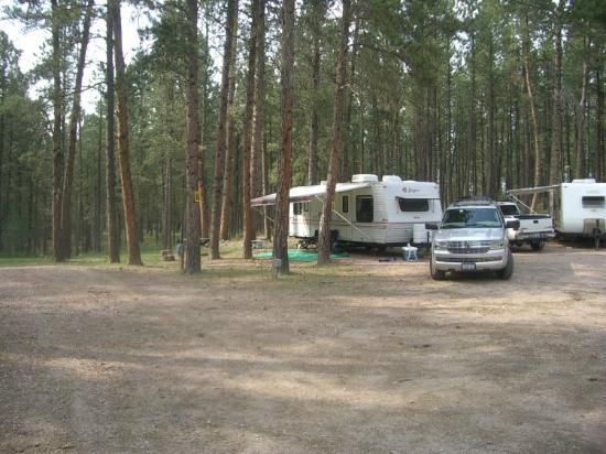 Site #55 - Big Pine Campground