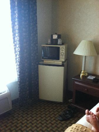 BEST WESTERN PLUS Rama Inn & Suites: In room refrigerator and microwave