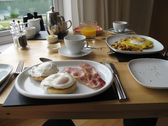Huntingtower Lodge: Colazione