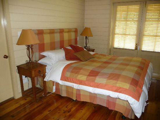 The Pines Pastoral: The main bedroom