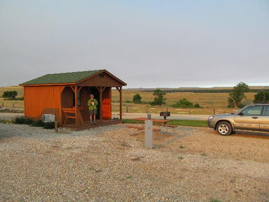 7th Ranch RV Camp & Historical Tours: Our Cabin