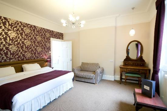 Lincombe Hall Hotel: Gold Bedroom