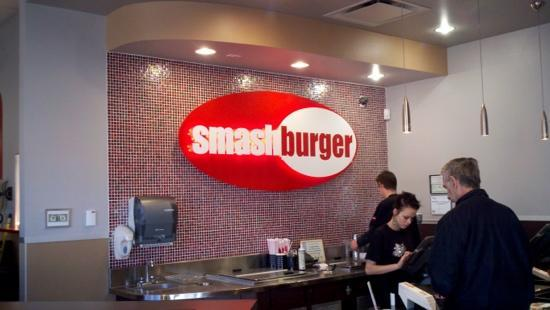 Smashburger: Inside counter view