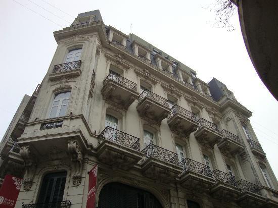 Hotel Plaza Fuerte: Fachada