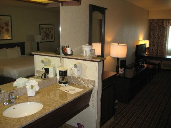 Crystal Inn Hotel & Suites Salt Lake City - Downtown: Espace salle de bain