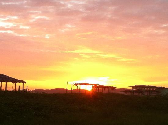 Guest House La Posada del Sueco: Ecuadoran sunset