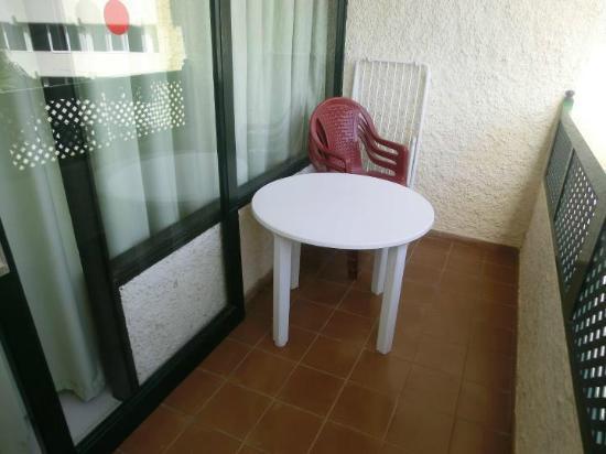 Apartamentos Las Dunas: Balcone
