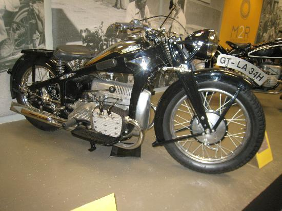 Museo de la Moto: A Zundapp - what a great name for a motorbike!