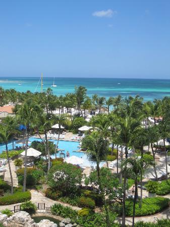 Hyatt Regency Aruba Resort and Casino : Kelly Habbas view from room at Hyatt Aruba
