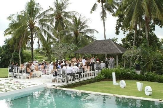 Villa Infinity Bali : wedding service