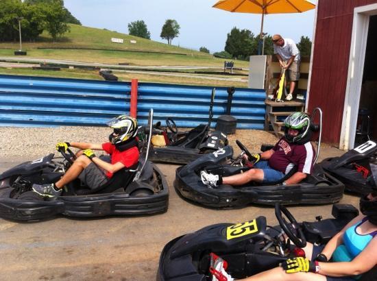 Virginia International Raceway: karting at VIR!