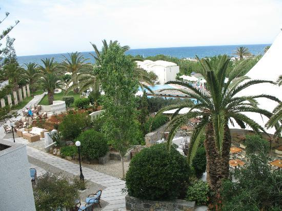 Agapi Beach Hotel: Another view from my balcony