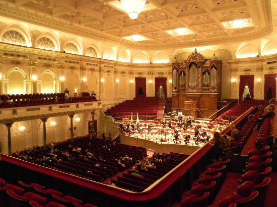 Concertgebouw: Inside the hall