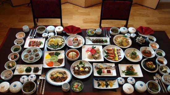 Gwangju, Corea del Sur: 한정식 아리랑하우스