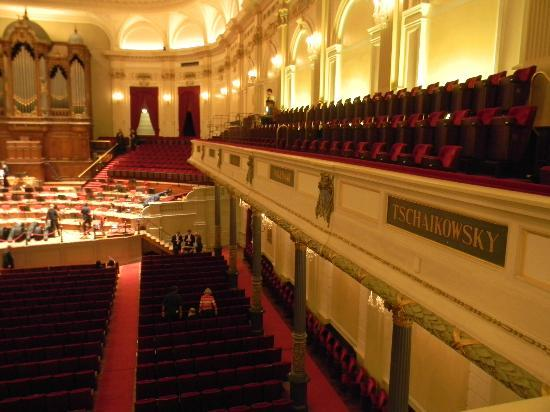 Concertgebouw: Inside the hall