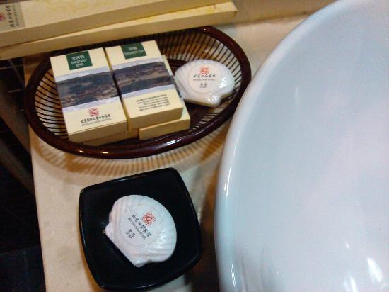 Beijing Sihe Courtyard Hotel: the soap