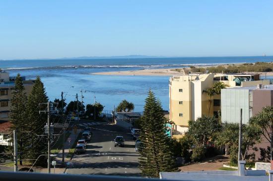 Ocean Views Resort : View from Ocean View room 6th floor