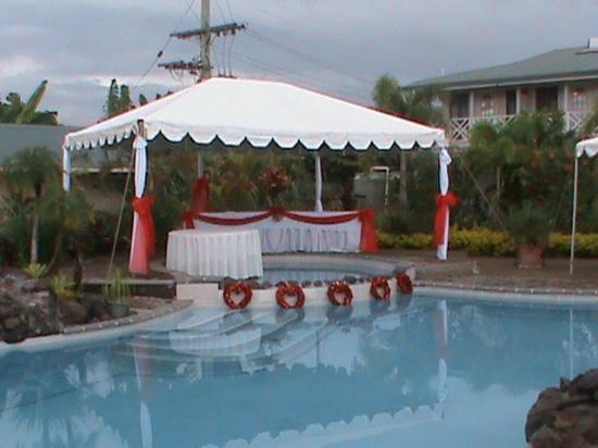 Moanalisa Hotel : Pool Side - Wedding Preparation 6