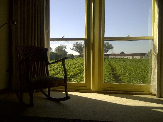 Highbank Winery Accommodation : Highbank Room with a View