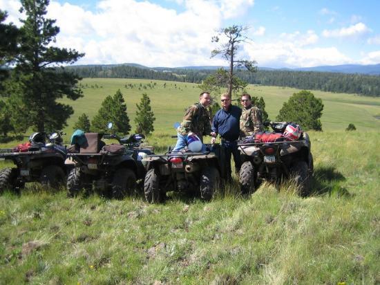 Antler Ridge Resort Cabins: nearby ATV riding
