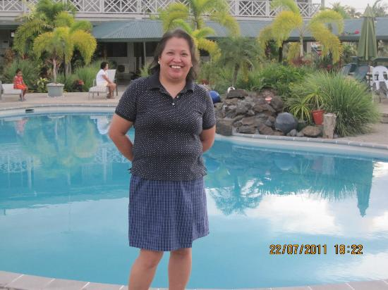 Moanalisa Hotel : Enjoying the beautiful view of the pool