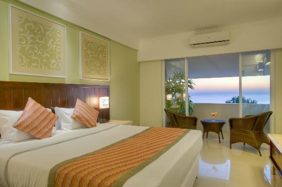 โรงแรมมหารานี บีช: Deluxe Ocean View Room