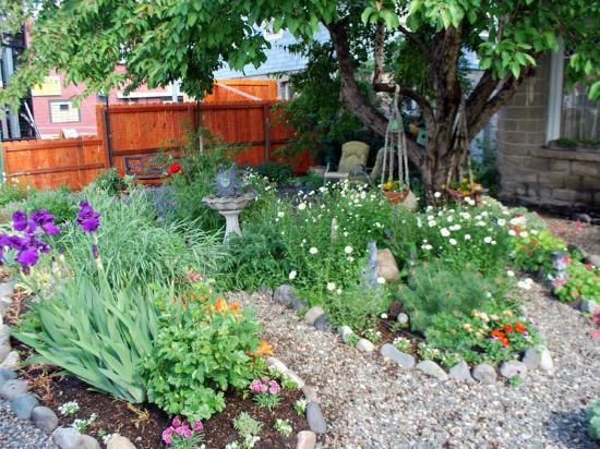 Gardiner Guest House B&B: Front garden