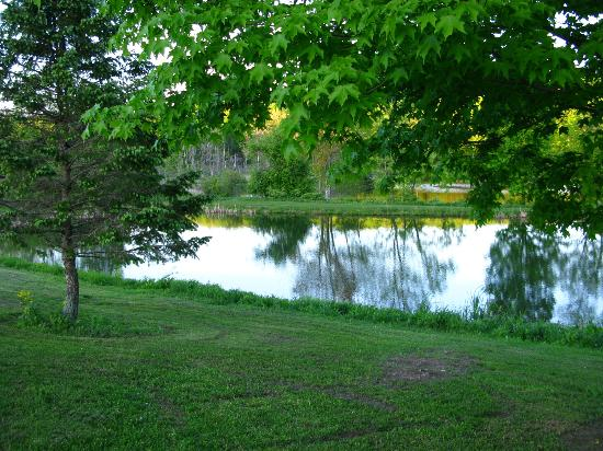 Fieldstone Farm: one of the beautiful ponds