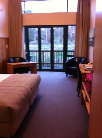 Waitomo Lodge: room 12