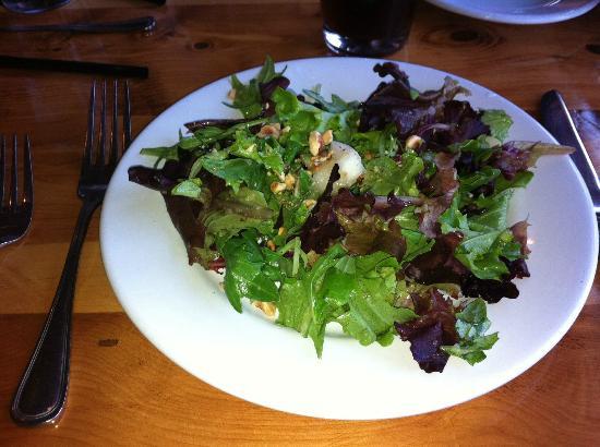 Callahan's Mountain Lodge : Salad with dinner