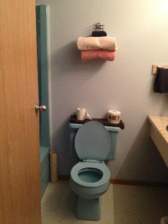 Big Horn Hotel : Bathroom