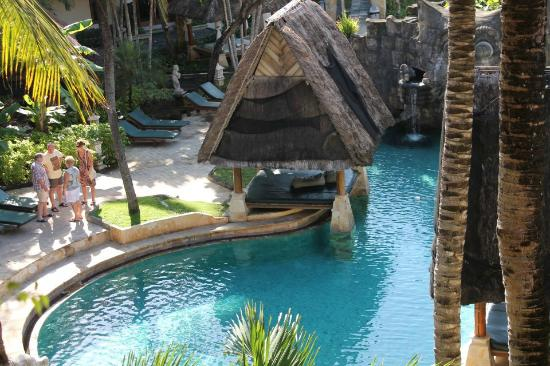 The Tanjung Benoa Beach Resort Bali: Pool View from the room - Ramada Benoa